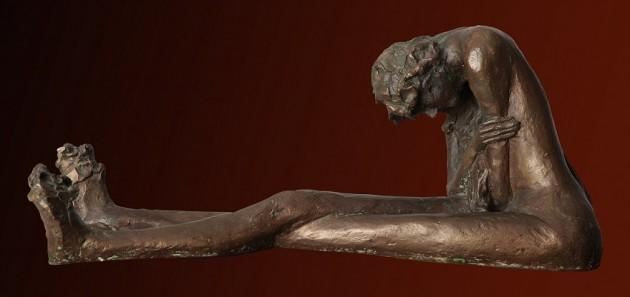 Solitudine - 12x14x32 cm, 1996