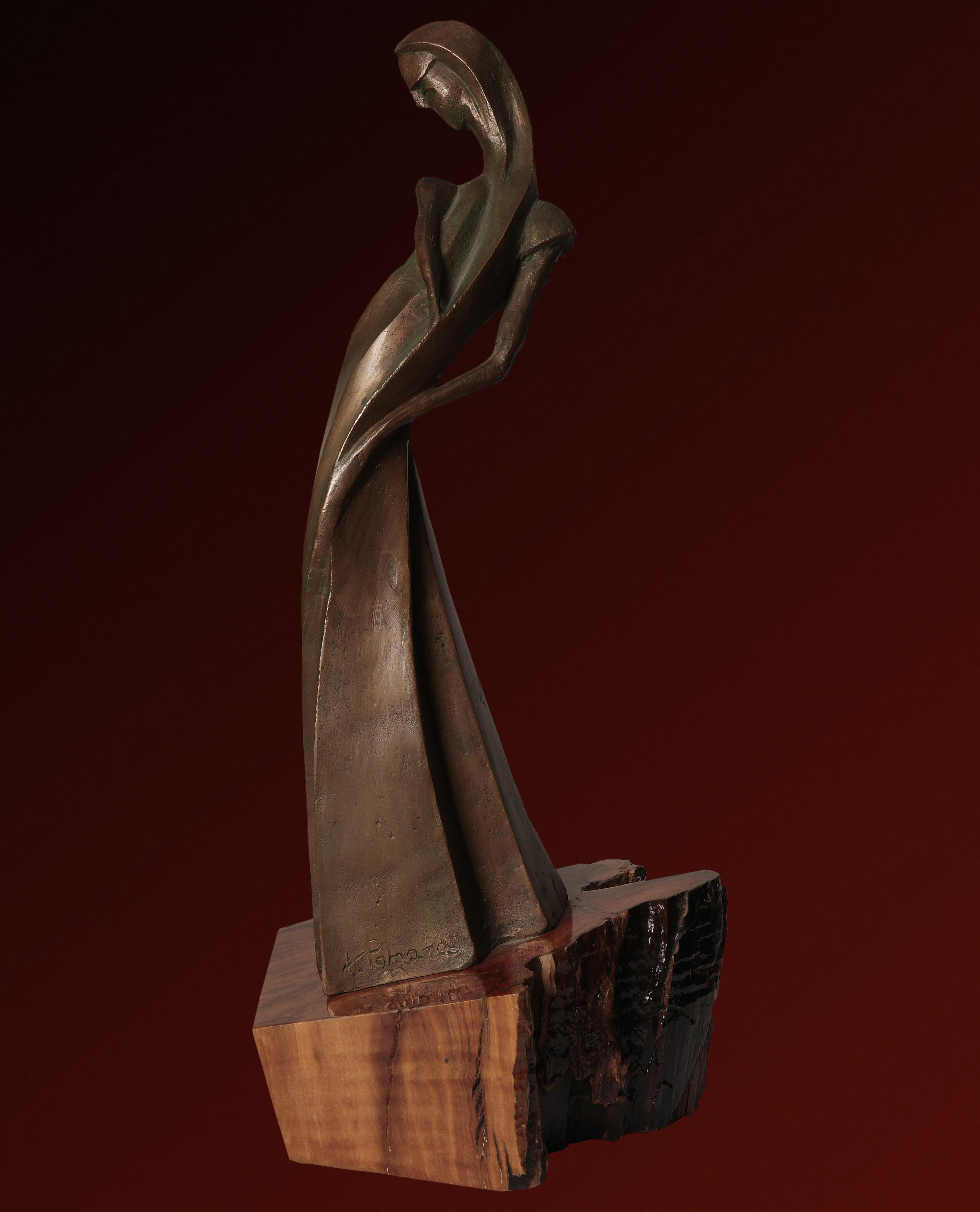 Figura in posa - 36x10x10 cm, 1998