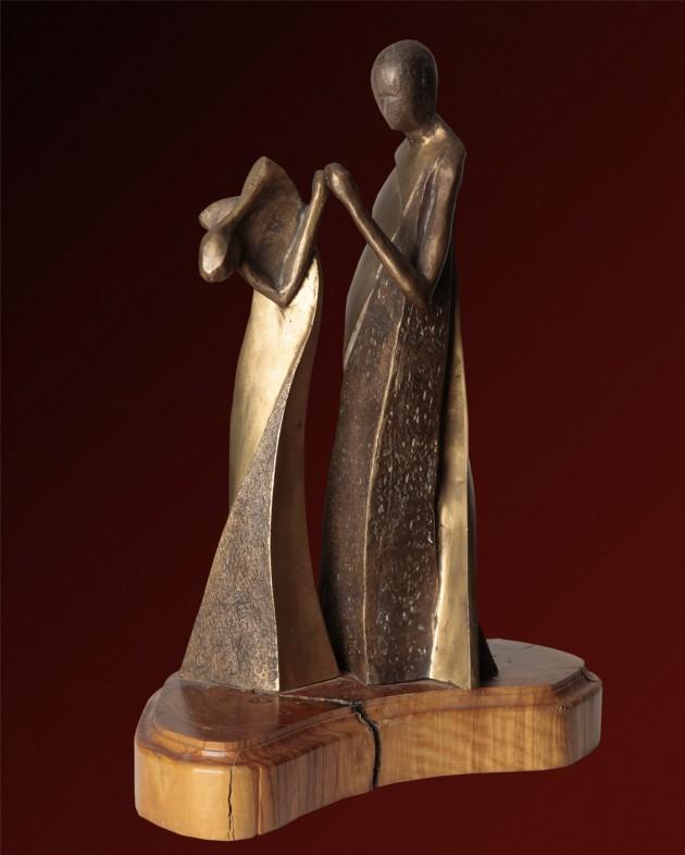 La danza - 35x15x18 cm, 1998