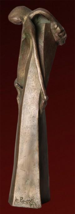 Abbraccio - bronzo a cera persa cm31x8x7 - 1998