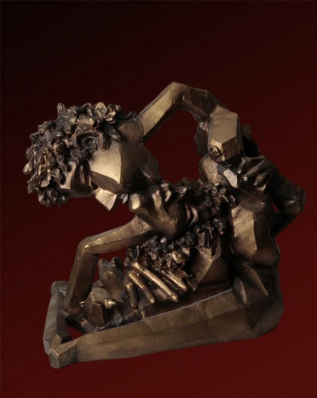 Gli amanti - 45x37x60 cm, 2006)
