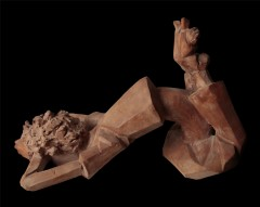 Meditazione - 40x41x55 cm, 2008)