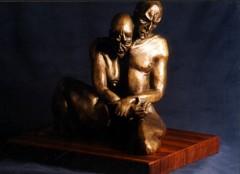 Metamorfosi - bronzo a cera persa cm35x32x21 - 1998