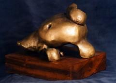 Nascita - bronzo a cera persa cm22x34x22 - 1997