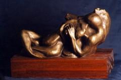 Passione - bronzo a cera persa cm20x15x35 - 1998