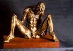 Ultimo - bronzo a cera persa cm30x42x25 - 1997